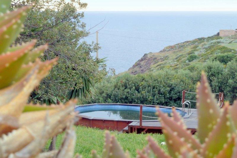 Pool und Meer - Villa Nunzia