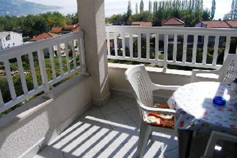 A3 Balkon mit Meerblick