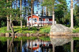 LAKE NISSÅNGEN Quiet loc Boat Sauna