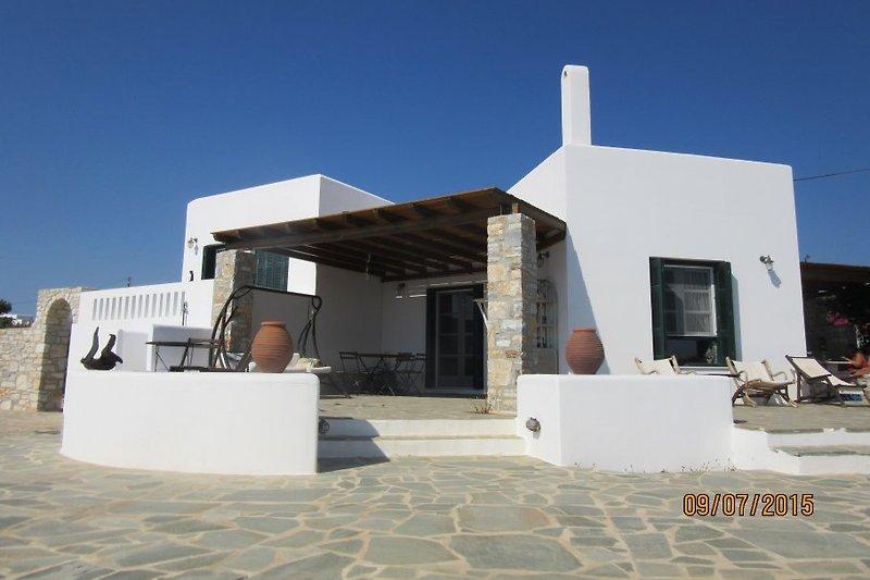 Villa fron front