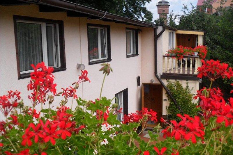 Unsere Haus in Gizycko - Zimmer mit Balkon