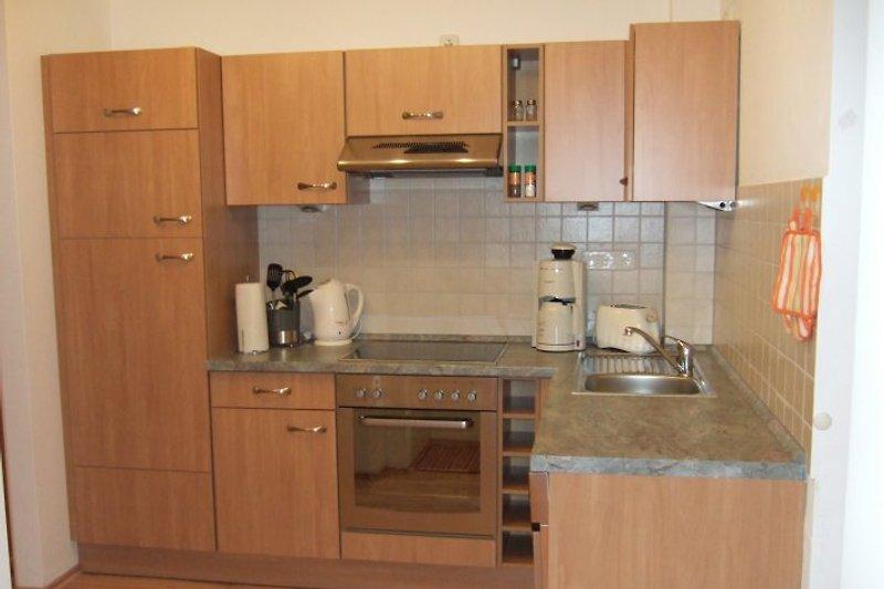 1a appartement am strand ferienwohnung in zempin mieten for Cerankochfeld mit backofen