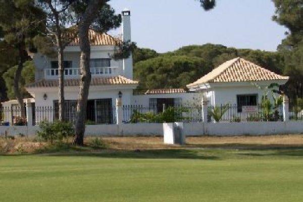 Andalusische Golfvilla/Nebenh. en El Portil/ Nuevo P. -  1