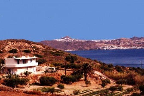 Haus SOULA und der Golf von Milos
