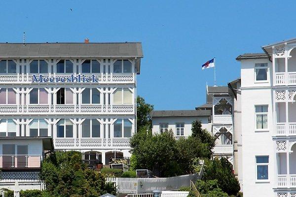 Villa Meeresblick von der Strandpromenade