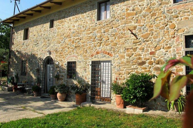 Toskana-Ferienhaus LA LETIZIA mit Privatpool zur alleinigen Nutzung: ca. 300 Jahre altes, in 2008 sorgfältig restauriertes Bauernhaus.