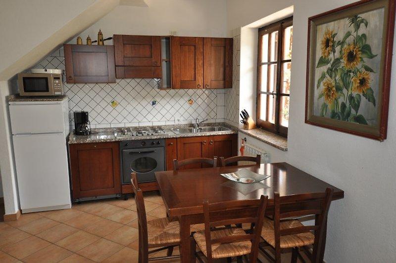 Ausschnitt der Wohnküche