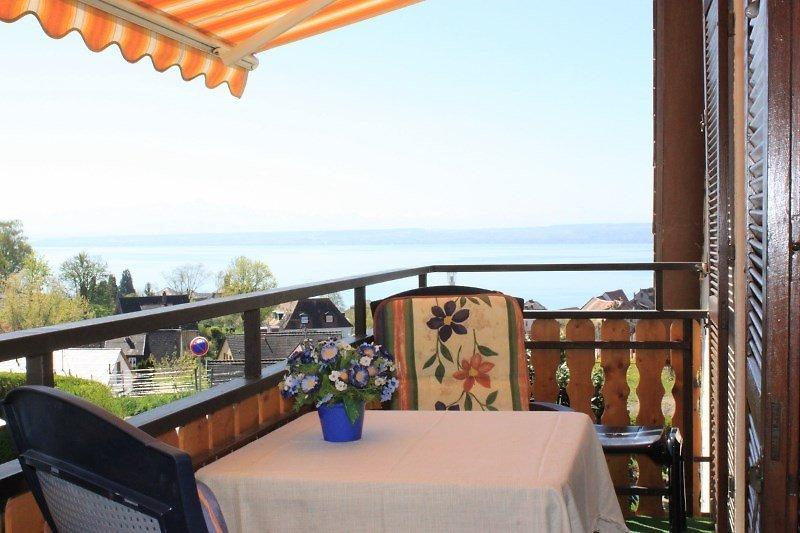 Säntisblick Balkon mit Seesicht