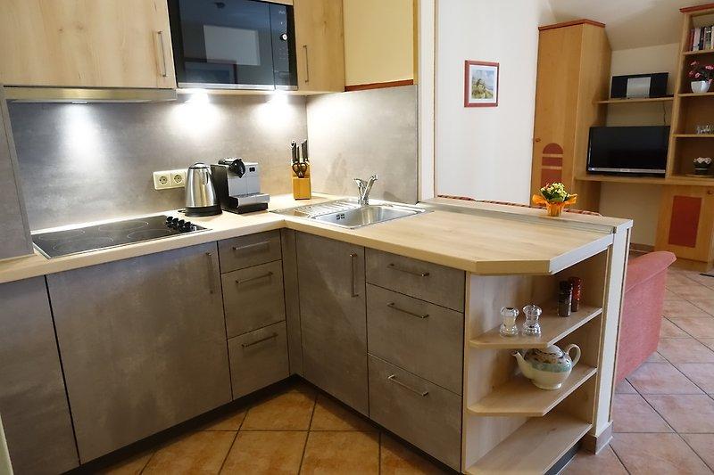 Küche mit Wohnraum