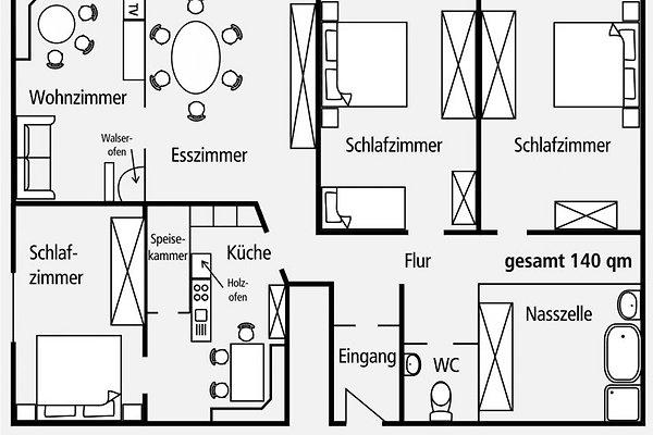 Wohnungsplan Lesen schuster bis 9 personen riezlern ferienwohnung in riezlern mieten