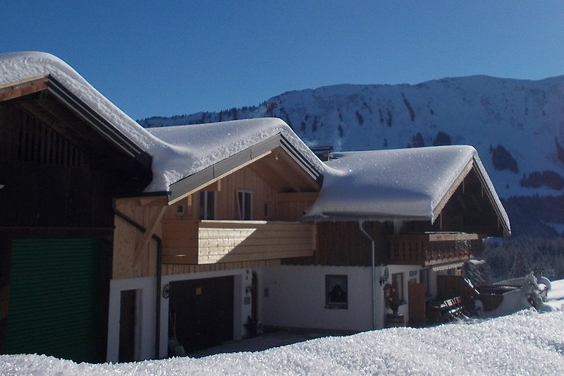 Berghof Felder, Winter