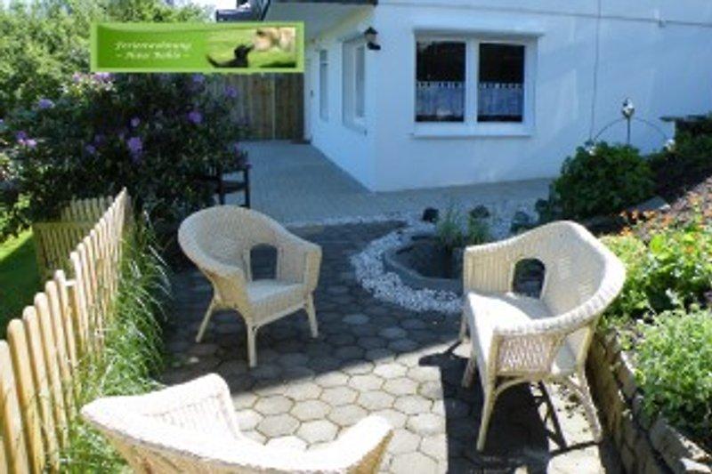 Terrasse Ferienwohnung 1