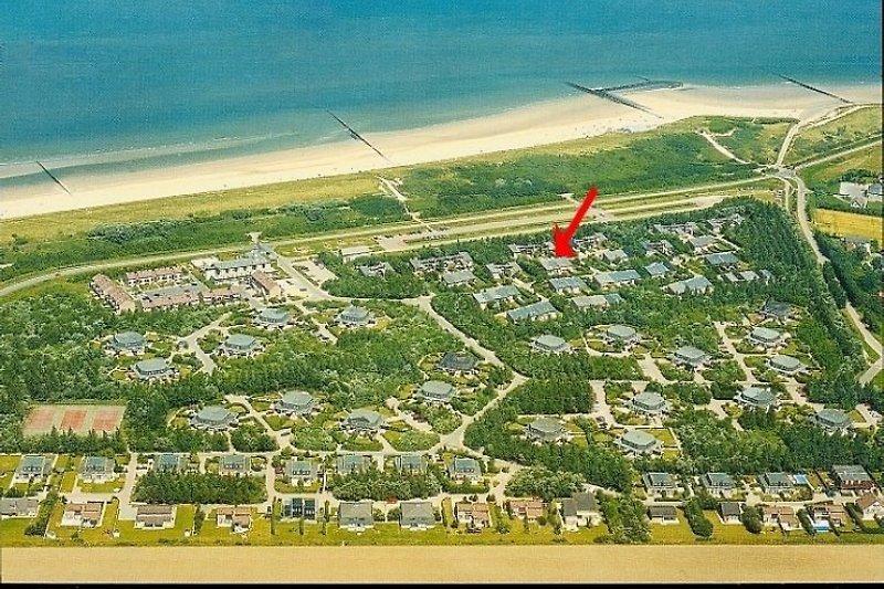 200m Luftlinie zum Strand