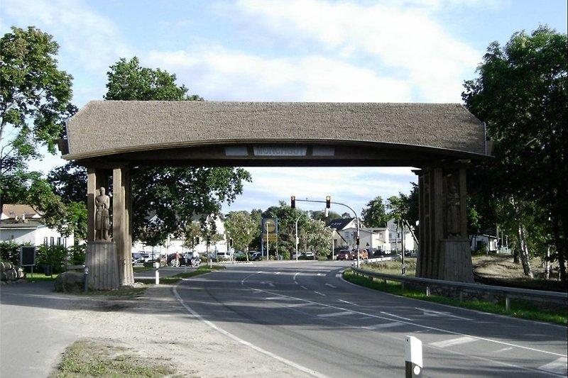 Das Tor zur Halbinsel Mönchgut