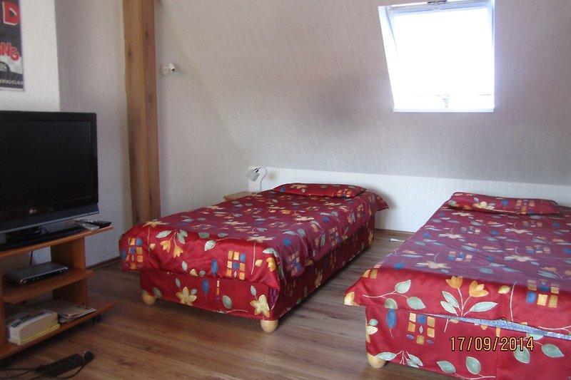 Dachgeschoßzimmer