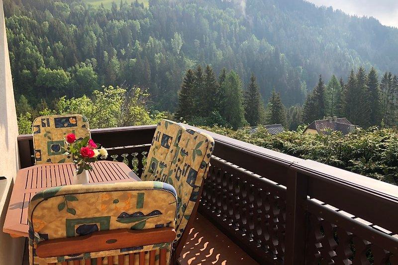 Balkon bei der Küche