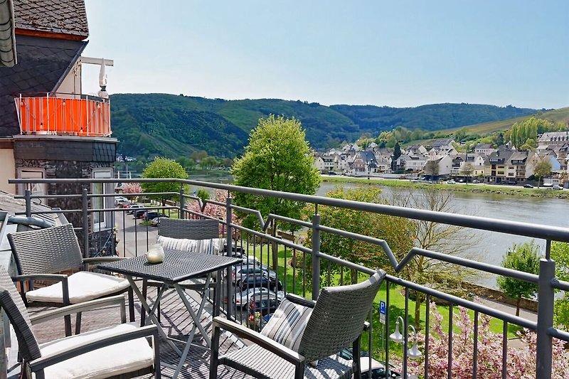 Ferienwohnung Keltenhof mit Panorama-Moselblick