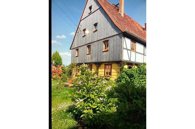 Umgebinde- Fachwerk-Haus  Anno 1793