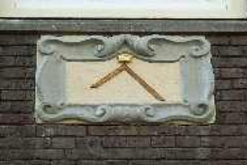 Our gable tile of 1663