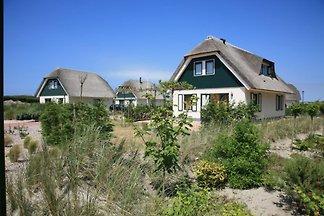 Maison de plage sur les dunes
