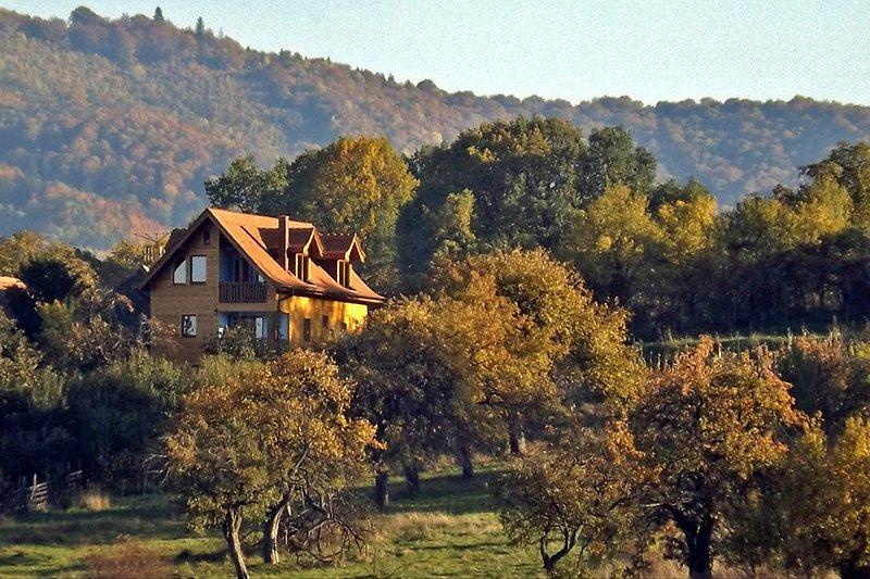 • Villa Zollo • Vacation rental at the Carpathian foothills near Sibiu Transylvania Romania