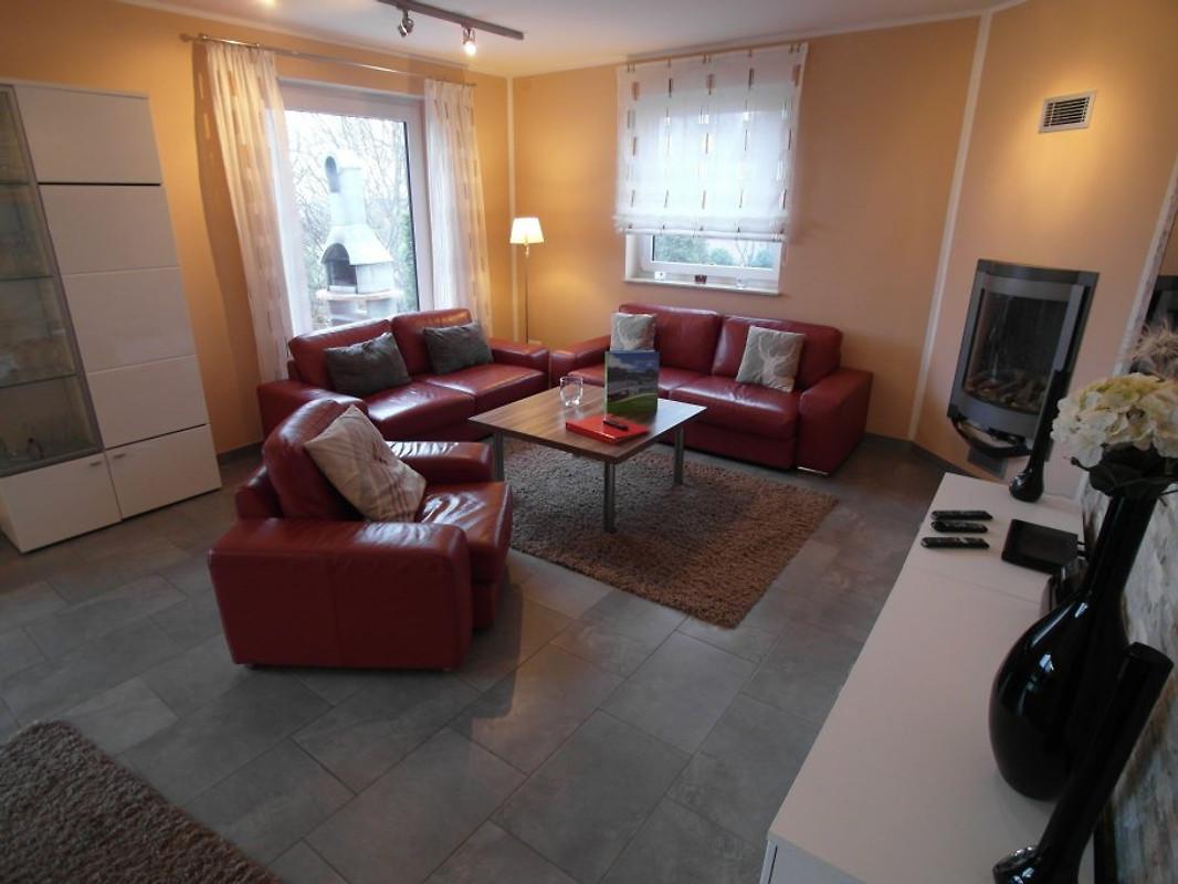 Villa am see ferienhaus in g hren lebbin mieten for Wohnzimmer 20 grad
