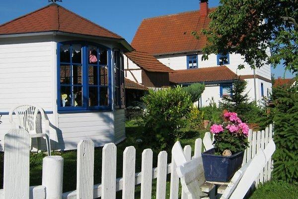 Ferienhaus mit Pavillon