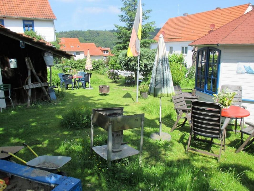 rustikales bauernhaus zum erholen ferienhaus in ronshausen machtlos mieten. Black Bedroom Furniture Sets. Home Design Ideas