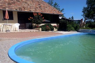 Ferienhaus mit Pool am Balaton