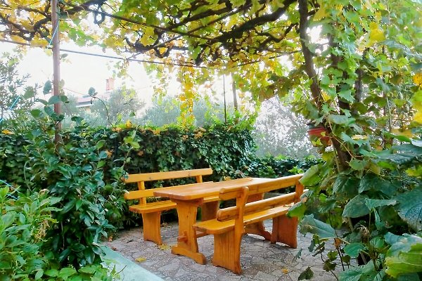 B & B LIDIJA, Relaxing Terrasse