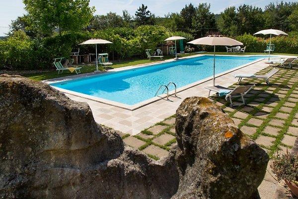 Sch ne villa in der toskana pool ferienhaus in anghiari - Garten eisenstuhle ...