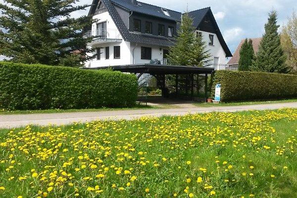 Ansicht des Gastgeberhauses, im EG sind die beiden Ferienwohnungen