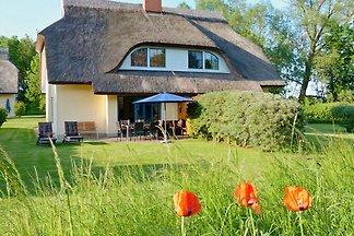 Eibe 1 Reetdach-Ferienhaus