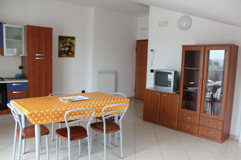 Beispiel für die ansprechenden Wohnräume