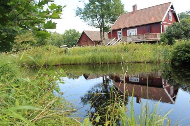 Das Haus beim kleinen Fluss - Hinterseite