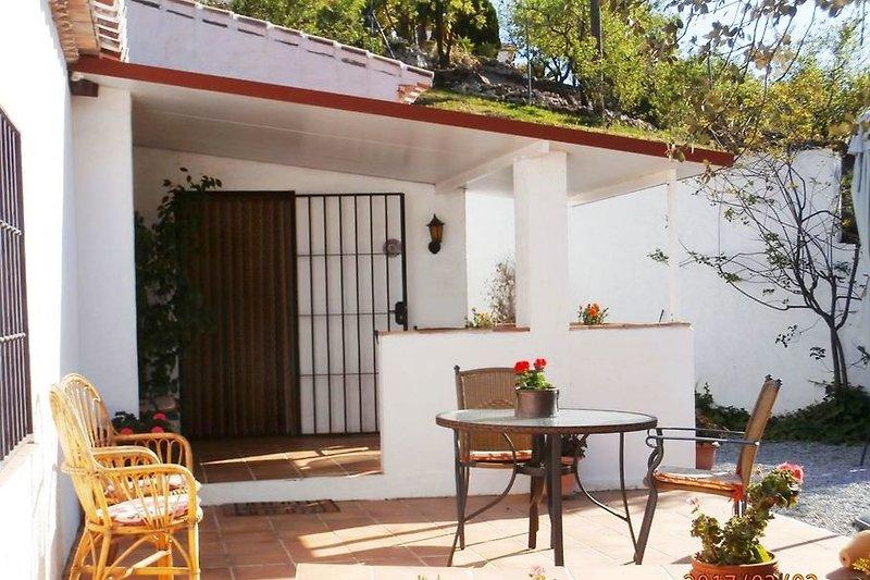 Casa Isidora - eine der Terrassen