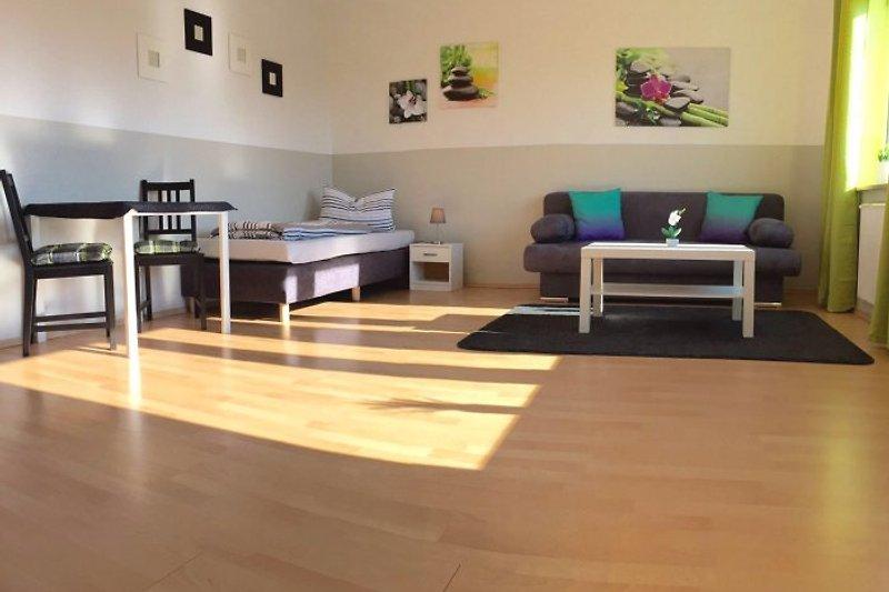 Wohnbereich Apartment 1