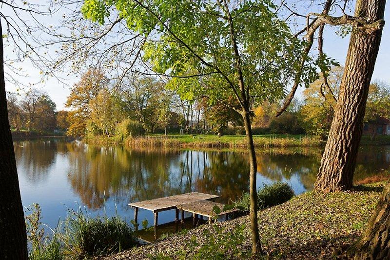 Pinnower See vor dem Haus