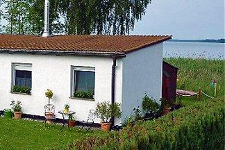 Ferienhaus mit Boot und Seeblick