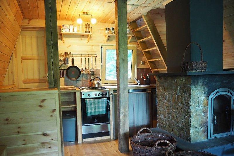 masuren ferienhaus am see sosna ferienhaus in gietrzwald. Black Bedroom Furniture Sets. Home Design Ideas