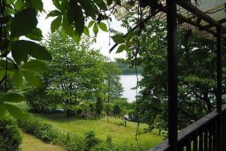 Mazurie à la maison du lac Sosna