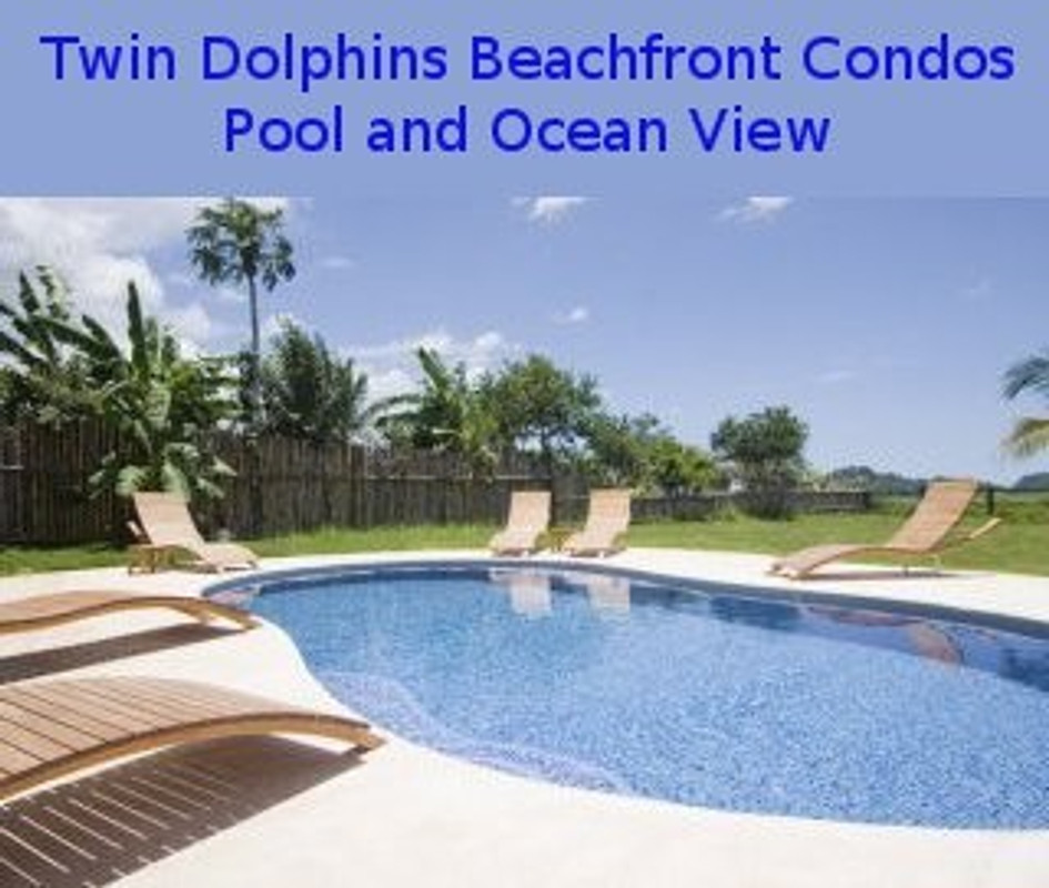 twin dolphins beachfront condo ferienhaus in playa. Black Bedroom Furniture Sets. Home Design Ideas