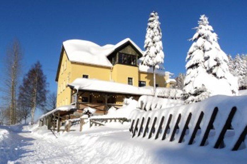 Unser Haus im Winter 2011