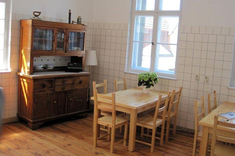 Gästeküche im Erdgeschoss