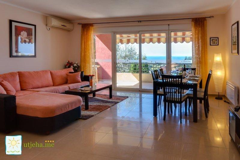 Montenegro Ferienwohnung - Schlafzimmer