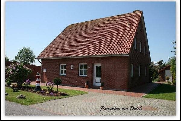 Paradies am Deich Haus B in Neßmersiel - Bild 1