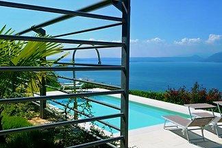 Location apt. avec piscine, vue sur la mer, WiFi