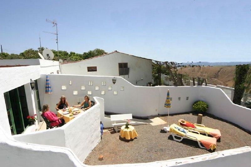 Ferienhaus mit Privatgarten Maspalomas Gran Canaria