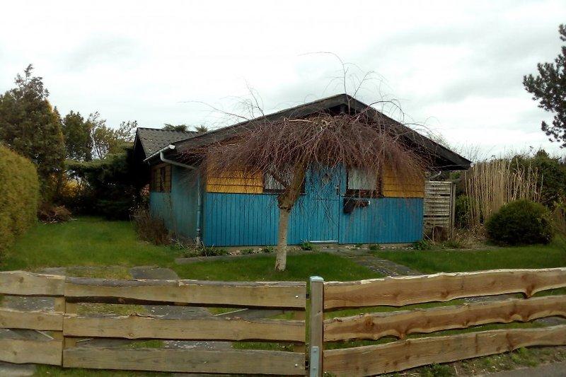 Haus - Vollzaun