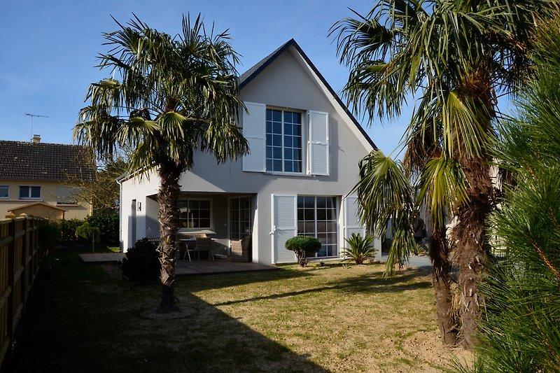 Haus von Süden aufgenommen